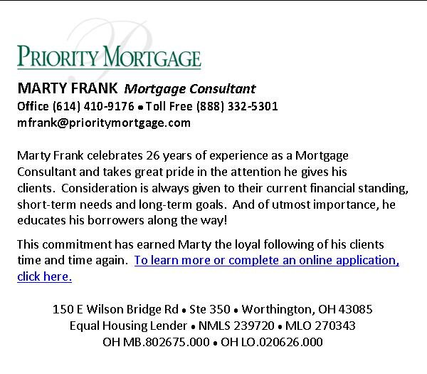 Marty Frank, Mortgage Consultant