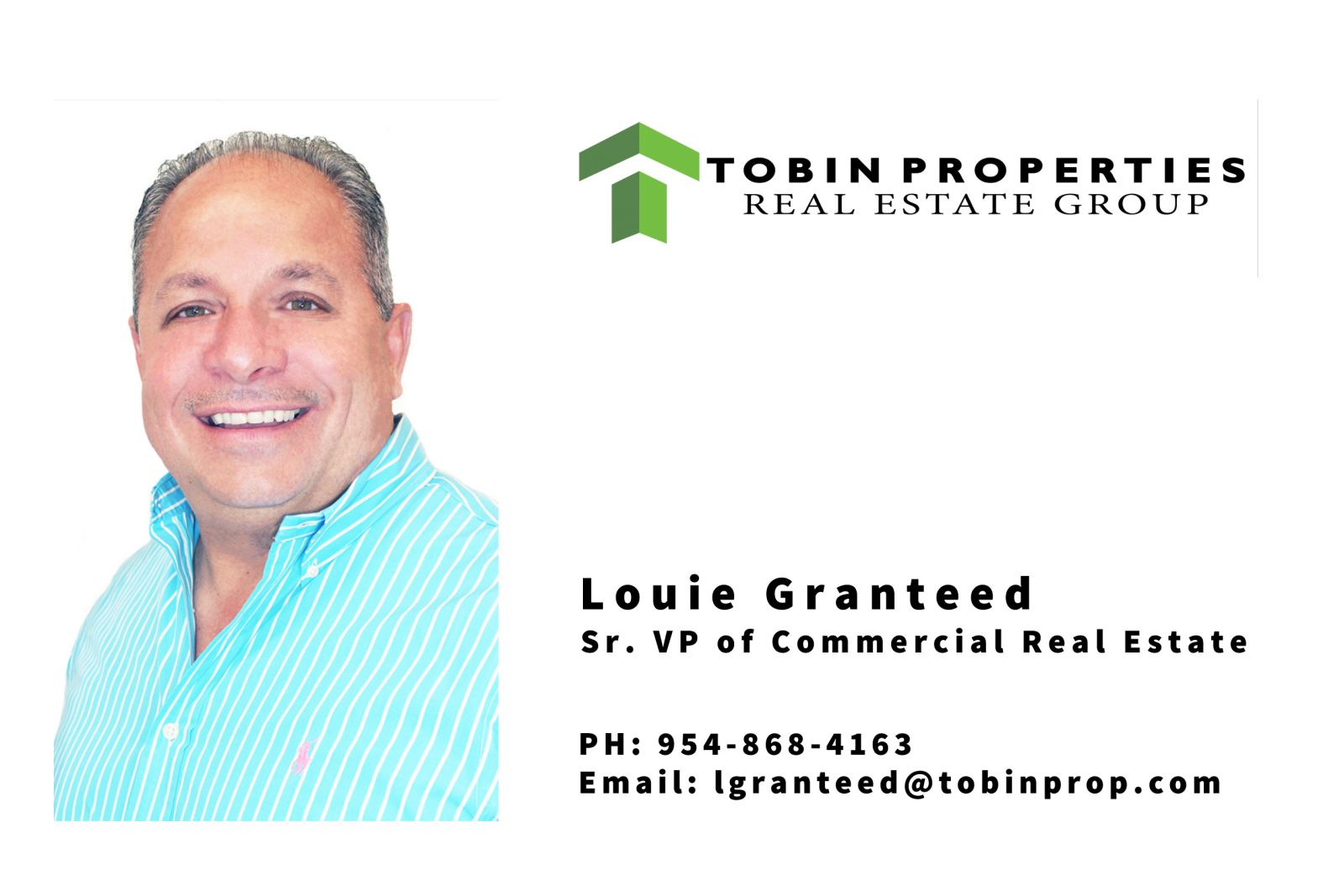 image of Louie Granteed, Sr VP of Commercial Real Estate