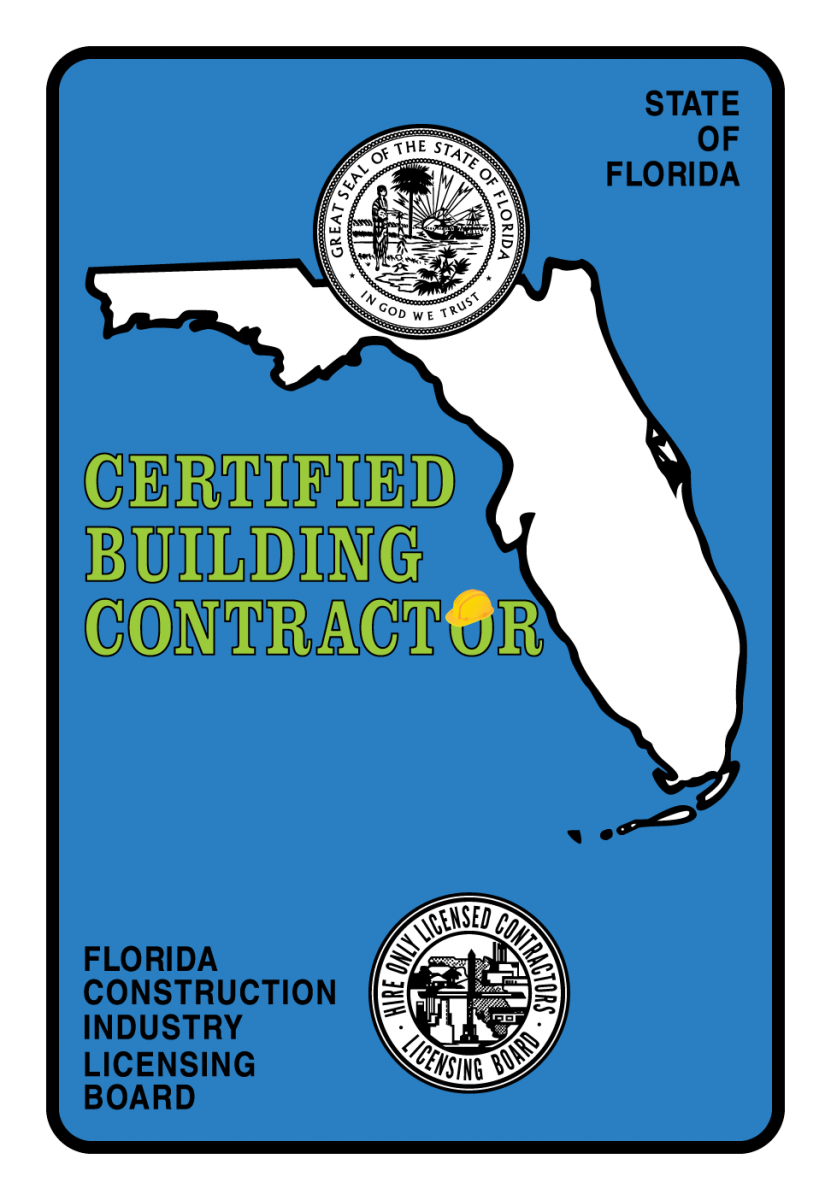 image of  Florida Certified Building Contractor logo