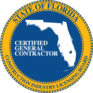 State of Florida Seal for Certified General Contractor #002790
