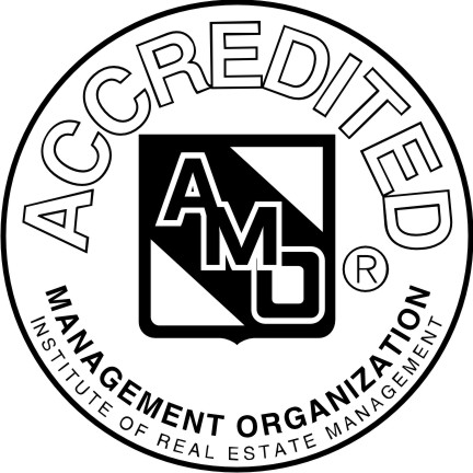 image of accredited management organization logo
