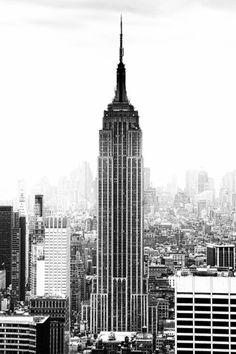 image of The Empire State Building in the 1950's - New York, NY