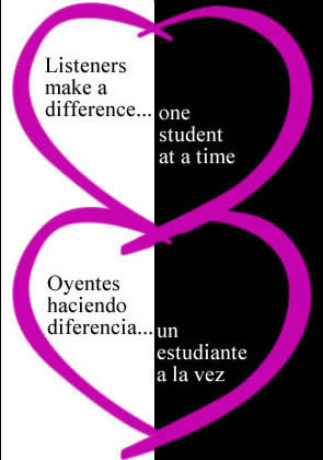 image of The Listeners/Oyentes Program logo