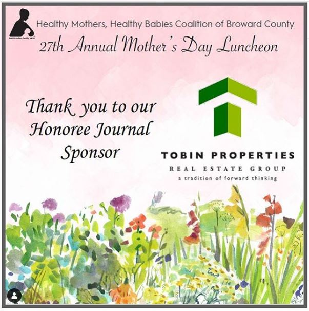 Image of Honoree mention for the 27th Annual Mother's Day lunch for Health Mothers Healthy Babies of Broward