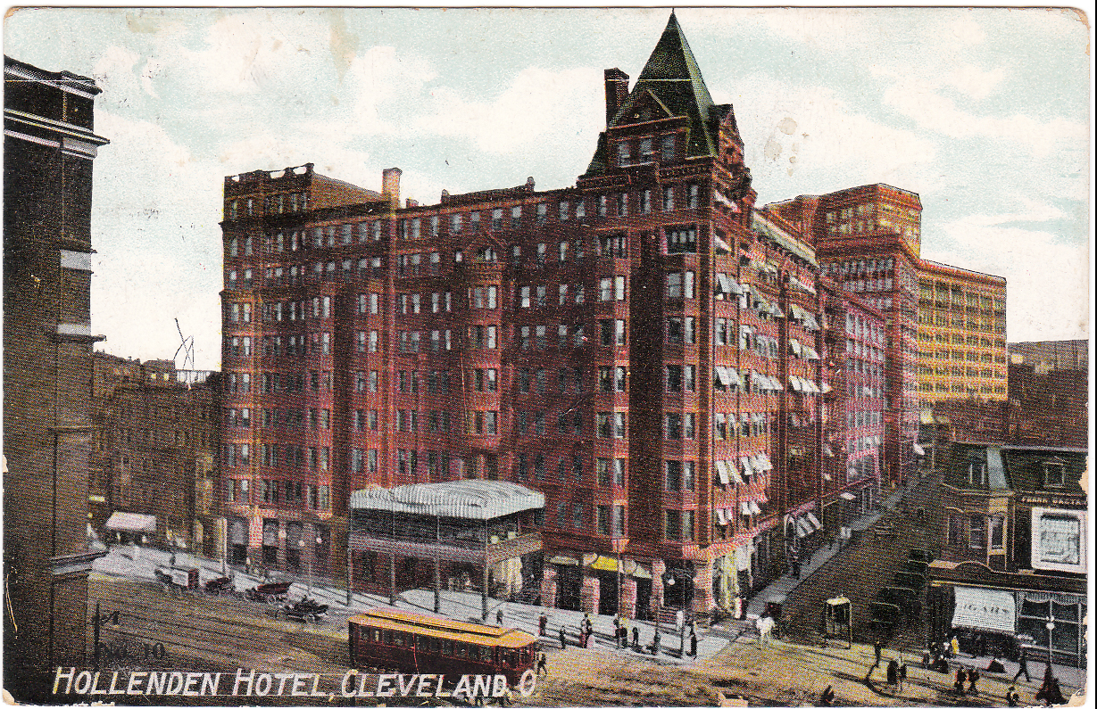 image of The Hollenden Hotel in Cleveland, OH