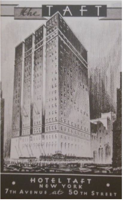Image of Hotel Taft in New York City