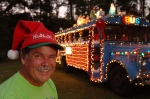 Danny Ryals Photo with Christmas Bus